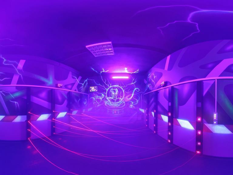 Arena Laserowa Paintball